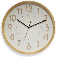 Horloge - Reveil Horloge murale silencieuse Oslo - D41 cm - Cadran blanc