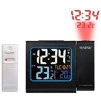 Horloge - Reveil LA CROSSE WT552-BLA Réveil écran couleurs avec projection