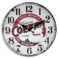 Horloge - Reveil MUNDUS Horloge Delicious - D 33.8 cm - Mouvement quartz