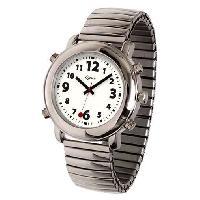 Horloge - Reveil Montre parlante ORIUM - Voix feminine - 5 x 5 x 1 cm - Structure metal