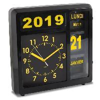 Horloge - Reveil ORIUM Horloge a date a volets Visual - Caracteres grand format - Grande lisibilité