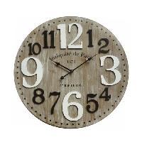 Horloge - Reveil PARIS Horloge murale - Ø 60 cm - Cotton Wood