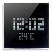 Horloge - Reveil PICOT Horloge a LED D24 cm noir et blanc