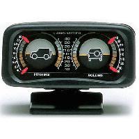 Horloges et Thermometres Inclinometre 4x4 - Lumineux - Noir - ADNAuto