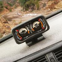 Horloges et Thermometres Inclinometre 4x4 - Lumineux - Rolling Pitching - ADNAuto