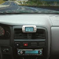 Horloges et Thermometres Montre calendrier thermometre - ADNAuto