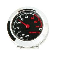 Horloges et Thermometres Thermometre Chrome