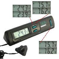Horloges et Thermometres Thermometre Interieur et Exterieur Carpoint