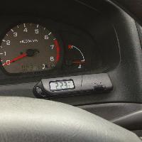 Horloges et Thermometres Thermometre interieur-exterieur ecran digital