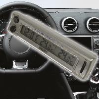 Horloges et Thermometres Thermometre interieur exterieur avec montre