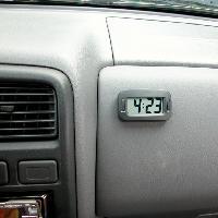 Horloges et Thermometres horloge grands chiffres - ADNAuto