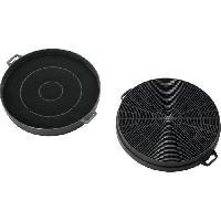 Hotte ELECTROLUX 942122016 - Filtre a charbon type 88 - Hotte recyclage - Absorbe les odeurs - Lot de 2