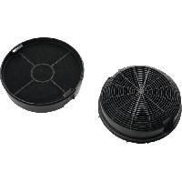 Hotte ELECTROLUX 942122202 - Filtre a charbons type 47 - Hotte recyclage - Absorbe les odeurs - Lot de 2