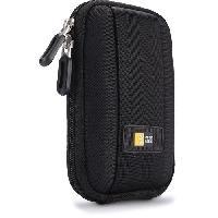 Housse - Etui - Chaussette Photo - Optique QPB301K Housse semi-rigide noir pour APN ultra-compact