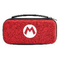 Housse - Etui - Coque - Facade - Sacoche De Transport Housse Deluxe Mario Remix pour Nintendo Switch - Pdp