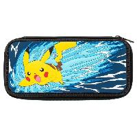 Housse - Etui - Coque - Facade - Sacoche De Transport Housse Pikachu Battle Edit. pour Nintendo Switch