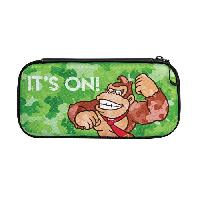 Housse - Etui - Coque - Facade - Sacoche De Transport Housse Slim Camo Donkey Kong pour Nintendo Switch - Pdp