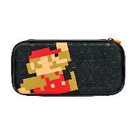 Housse - Etui - Coque - Facade - Sacoche De Transport Housse Slim Retro Mario pour Nintendo Switch - Pdp