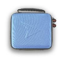 Housse - Etui - Coque - Facade - Sacoche De Transport Housse de Protection Steelplay bleue pour 2DS
