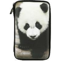 Housse - Etui - Coque - Facade - Sacoche De Transport Housse de protection Konix - Panda pour 2DS-3DS