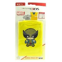 Housse - Etui - Coque - Facade - Sacoche De Transport Mini T-Shirt de Protection Marvel Wolverine pour console 3DS