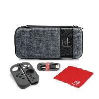 Housse - Etui - Coque - Facade - Sacoche De Transport Pack de transport Elite Edition pour Nintendo Switch