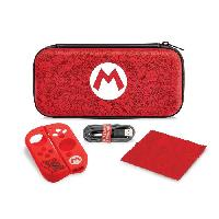 Housse - Etui - Coque - Facade - Sacoche De Transport Pack de transport Mario Remix pour Nintendo Switch - Pdp