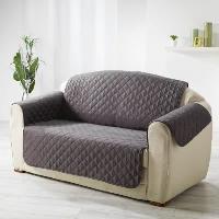 Housse De Canape DOUCEUR d'INTERIEUR Protege fauteuil matelasse Club 165x179 cm anthracite