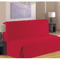 Housse De Canape Housse de canape BZ 140x190 cm rouge - Generique