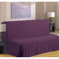 Housse De Canape Housse de canape BZ 140x190 cm violet - Generique