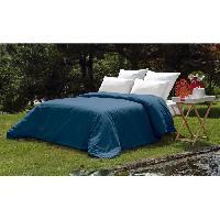 Housse De Couette  VENT DU SUD Housse de couette PALACE en coton lavé - 220x240 cm - Bleu marine