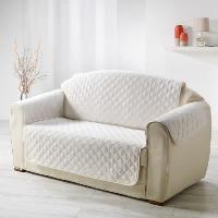 Housse De Fauteuil Protege fauteuil matelasse Club 165x179 cm naturel