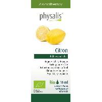 Huile Essentielle - Essence - Fleur De Bach Physalis huile ESSENTIELLE Citron 10 ml Bio - Aucune