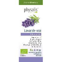 Huile Essentielle - Essence - Fleur De Bach Physalis huile ESSENTIELLE Lavande vrai 10 ml Bio - Aucune
