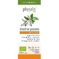 Huile Essentielle - Essence - Fleur De Bach Physalis huile ESSENTIELLE Menthe poivree 10 ml Bio - Aucune