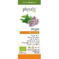 Huile Essentielle - Essence - Fleur De Bach Physalis huile ESSENTIELLE Origan 10 ml Bio - Aucune