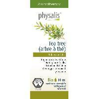 Huile Essentielle - Essence - Fleur De Bach Physalis huile ESSENTIELLE Tea tree 10 ml Bio