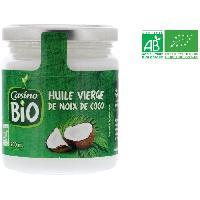 Huile Huile vierge de noix de coco bio - 200 ml