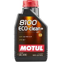 Huiles Moteur 10x Huile Motul 8100 Eco-Clean plus C1 5W30 bidon de 1L