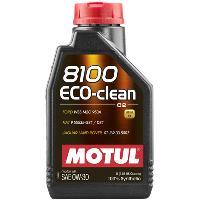 Huiles Moteur 12x Huile Motul 8100 Eco-Clean C2 0W30 bidon de 1L