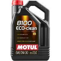 Huiles Moteur 4x Huile Motul 8100 Eco-Clean C2 0W30 bidon de 5L