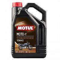 Huiles Moteur 4x Huile Motul moto 4T 10W40 bidon de 4L