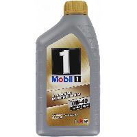 Huiles Moteur Huile 1 Fs 0w40 1l pour moteur diesel ou essence Mobil