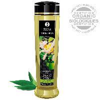 Huiles de massage Huile de Massage Biologique Saveur The Vert - 240 ml