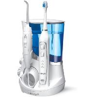Hydropulseur WATERPIK WP 861 sonic Combine hydropulseur et brosse a dent