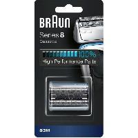 Hygiene - Beaute - Parfum Braun Series8 Cassette De Tete De Rechange Pour Rasoir Électrique Argentée. 83M