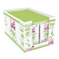 Hygiene Bebe 360 Lingettes Natural Caresse Ultra-Douces Hypoallergeniques Format Pocket 18 x 20 Unites