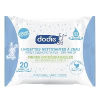 Hygiene Bebe Pack de 6 lingettes a l'eau Pocket - Biodegradables