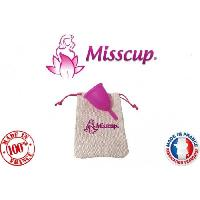 Hygiene Intime  MISSCUP Coupe menstruelle - Rose - S