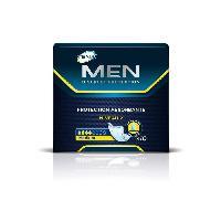Hygiene Intime  Serviettes hygieniques pour fuites urinaires Homme TENA - Incontinence moderee - Lot de 10
